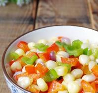 双椒玉米粒