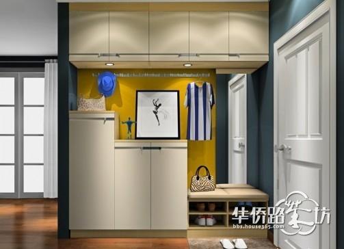 进门玄关鞋柜效果图及如何设计?