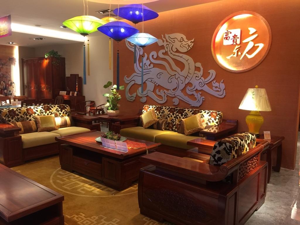忆东方新中式家具 _(b)保利香槟国际_华侨路茶坊