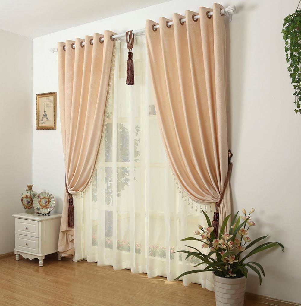 集美窗帘墙纸之高档客厅卧室窗帘-产品价格|报价