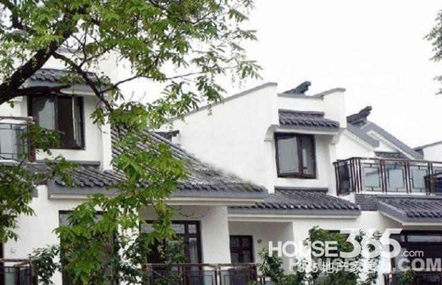 纯中式园林别墅鎏园 中国古典建筑 古式大门 前庭后院图片