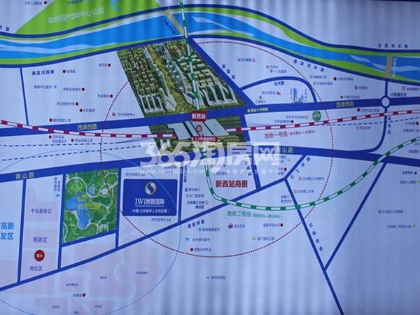 创智国际交通图