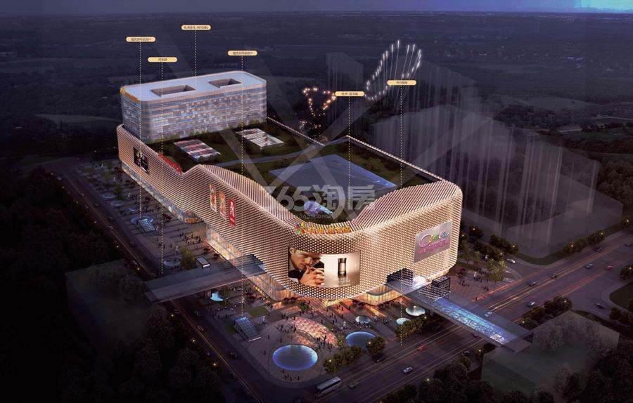 杭州港龙城鸟瞰图