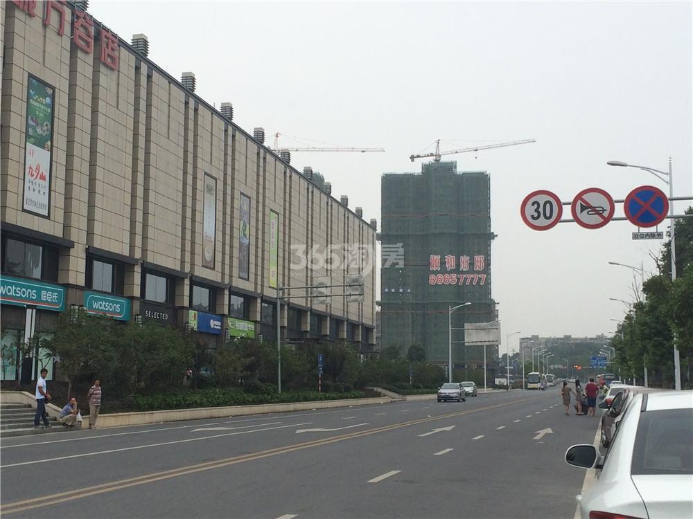 中电颐和府邸实景图(8.19)