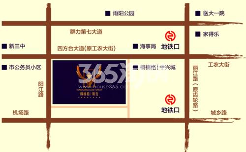 桐楠格领誉交通图