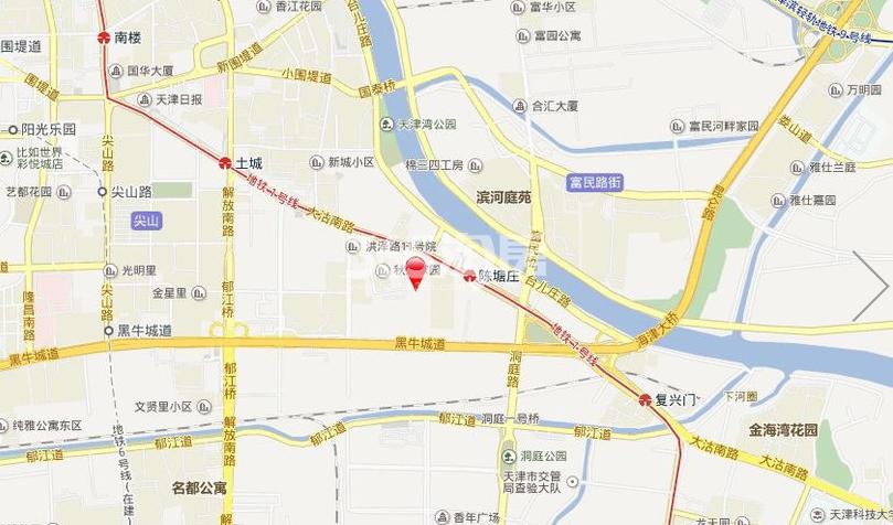中冶德贤公馆交通图