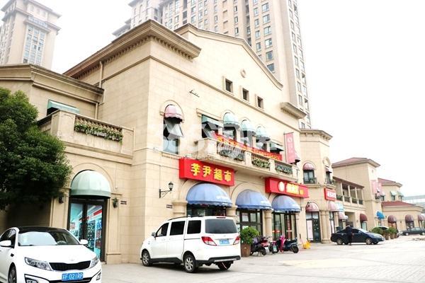 长泰国际社区沿街商铺实景图(2017.1摄)
