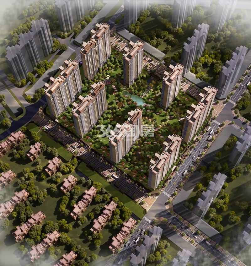 无锡万达文化旅游城高层住宅效果图