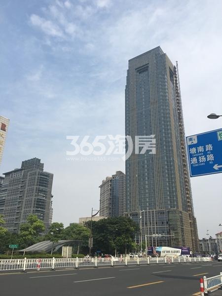 世贸公馆写字楼实景图(2017.6 摄)