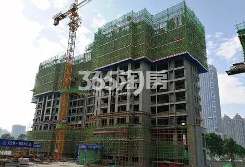 中国铁建西派国际实景图
