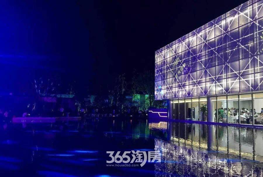 时光印象情景示范区建筑夜景图(2017.07)