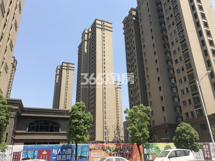 中电颐和府邸已建成楼栋(8.21)
