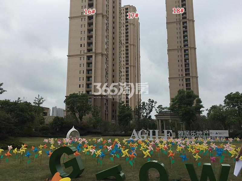 雅居乐国际花园16-18号楼实景图(2017.9)