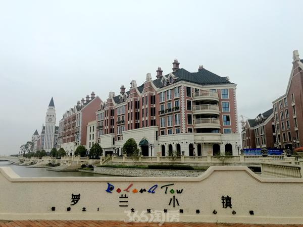 金晖罗兰小镇建筑实景(2017.9摄)