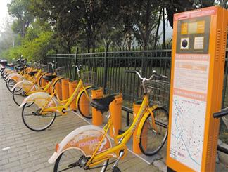 无锡公共自行车将为使用者购保险